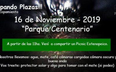 Copando plazas: Parque Centenario