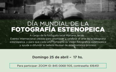 El 25/4 celebramos el Día Mundial de la Fotografía Estenopeica!